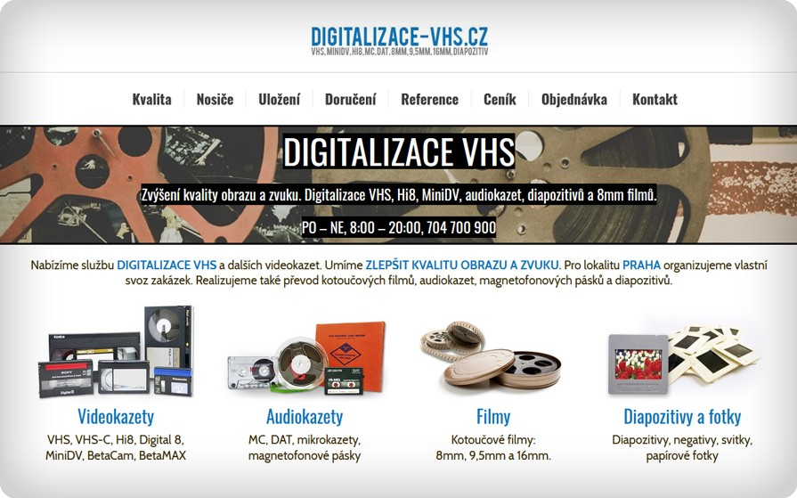 Digitalizace VHS