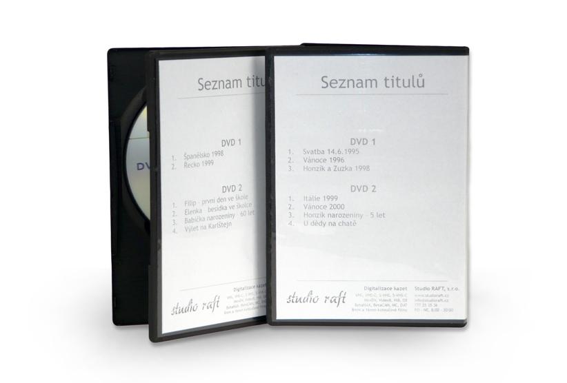 Převod 8mm filmů na DVD