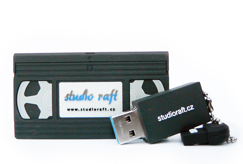 USB flash disk - VHS kazeta