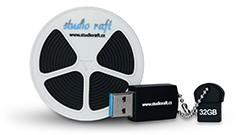 Uložení 8mm filmu na USB flashdisk