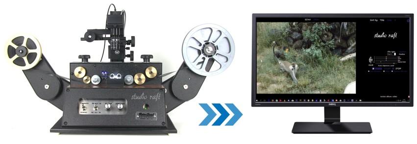 Digitalizace skenovaní 8mm filmů
